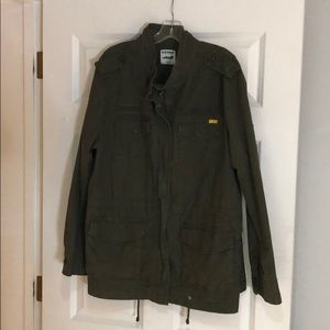 Cargo army green jacket